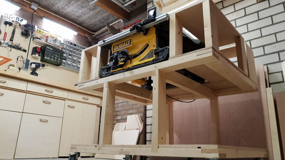 mobile workbench complete